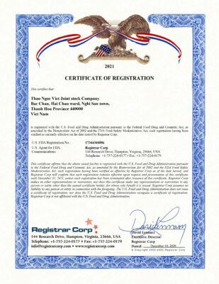 FDA THAO NGOC VIET 2020