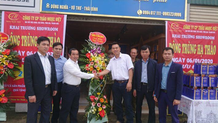 SHowroom Đông trùng hạ thảo tại Thái Bình
