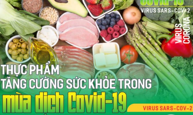 Những thực phẩm tăng cường sức đề kháng trước dịch Covid-19