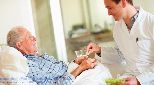 tác dụng của đông trùng hạ thảo với bệnh nhân ung thư