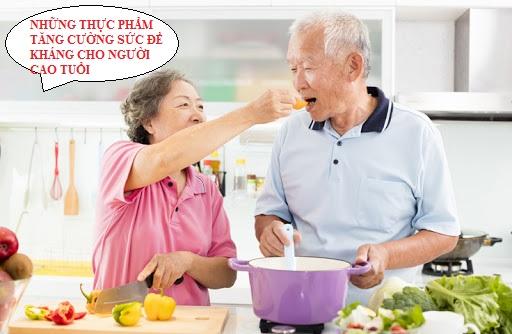 Những thực phẩm tăng cường sức đề kháng ở người cao tuổi